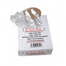 Light Duty Polythene Bags - 150 Gauge/37.5 Micron