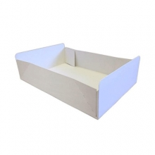 Cake Boxes - Plain White Folding