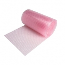 Pink Anti Static Bubble Wrap