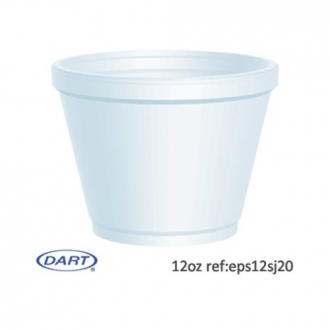 12 oz Dart Food Containers