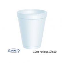 Dart 12oz Disposable Foam Cups