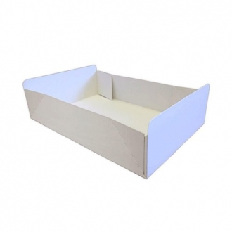 Cake Boxes - Plain White Folding