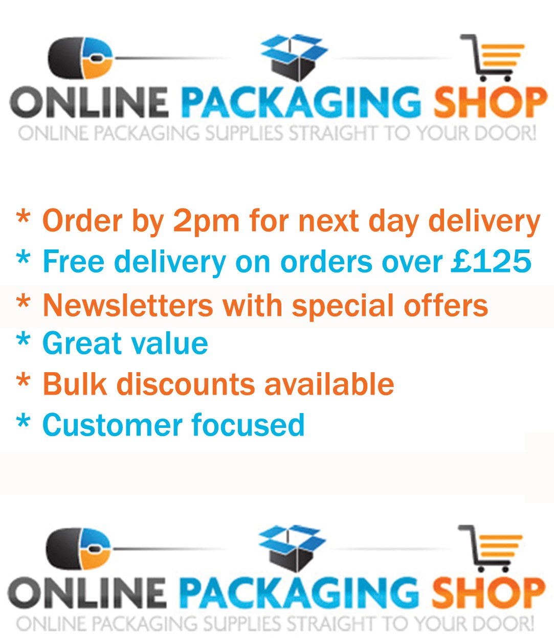 Online Packaging Shop