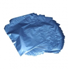 NEW Blue Metallic Mailing Bags