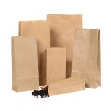 Block Bottom Paper Bags