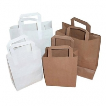 Take Away Paper Bags - Food Safe