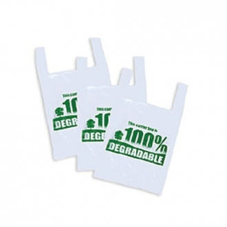 Degradable Vest Carrier Bags