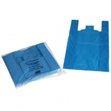 Recycled Vest Carrier Bags