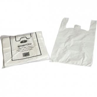 White Vest Carrier Bags