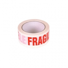 Printed Fragile Message Tape (Polypropylene) - 48mm x 66m