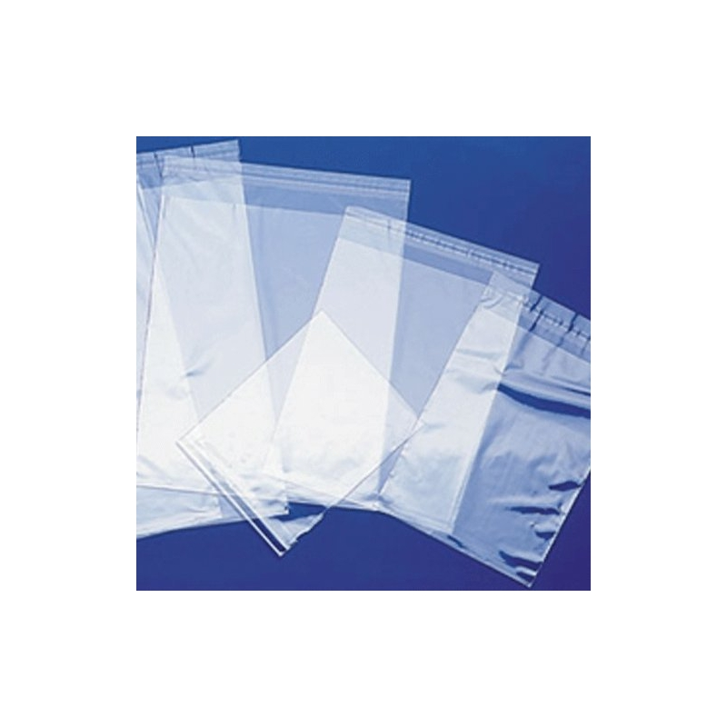 Self Adhesive Polypropylene Bags | Crystal Clear Bags