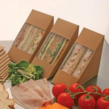 Biodegradable Sandwich Containers
