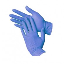 Blue Nitrile Gloves Large, Powder Free