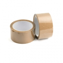 Premium Brown Hot Melt Adhesive Polypropylene Packaging Tape - 48mm x 66m (36 Pack)
