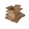 Brown Single Wall Cardboard Packing Boxes