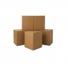 Brown Double Wall Cardboard Packing Boxes