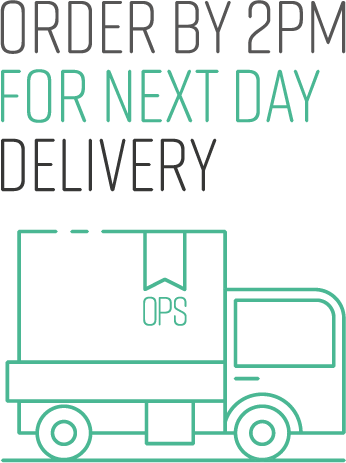 Order by 2pm for next day delivery